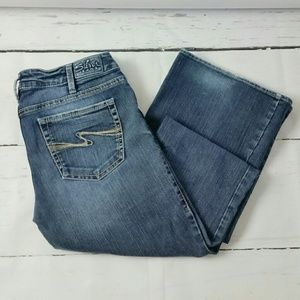 Silver Aiko Distressed Jeans 30/35 Tall